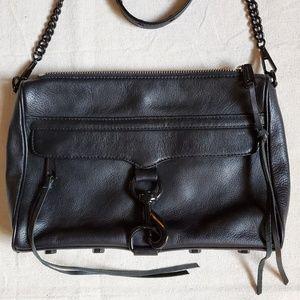 Rebecca Minkoff Large Leather Mac Crossbody Bag